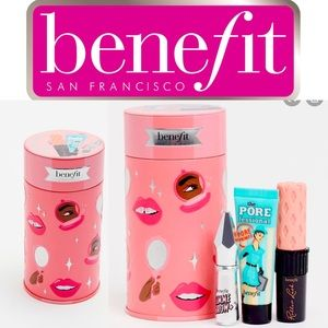 🎉☺️2X HP🎉🥳Benefit mini Makeup in a can  carrier